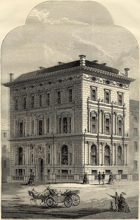 1866 &#8211; Whitehall Clubhouse, Parliament St., London