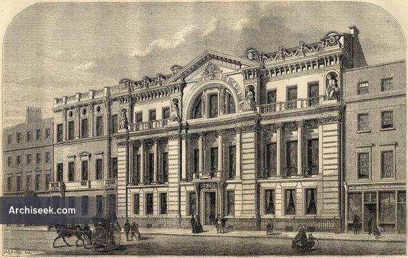1860 – Freemason's Hall, Great Queen Street, London