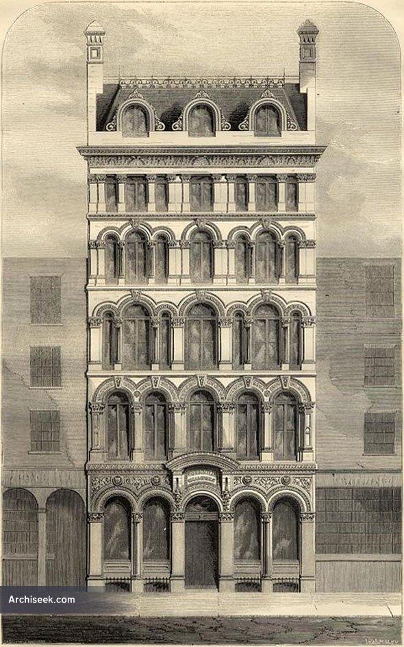 1866 – Cornhill Chambers, London