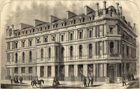 1865 &#8211; Union Bank of London, Chancery Lane, London