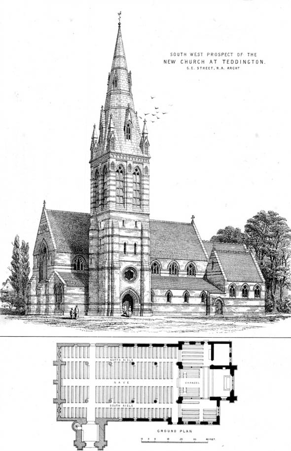 1874 &#8211; St John the Divine, Teddington, London