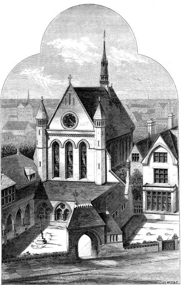 1877 &#8211; The Catholic Apostolic Church, Camberwell, London