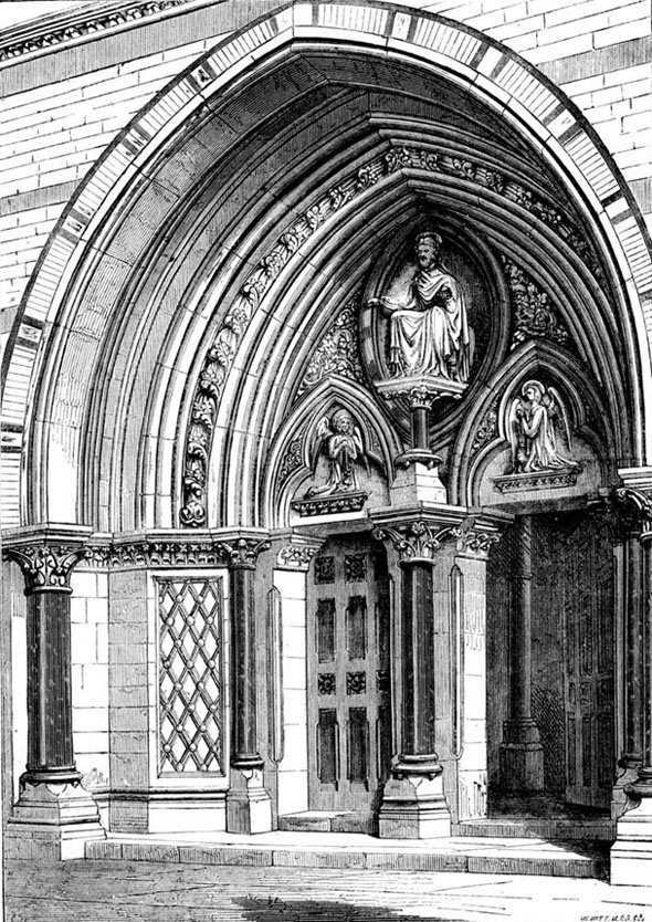 1869 – St. Mary's Pro-Cathedral, Kensington, London