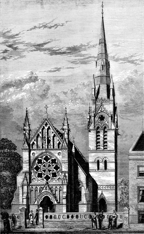 1876 &#8211; Hamberg Lutheran Church, Dalston, London