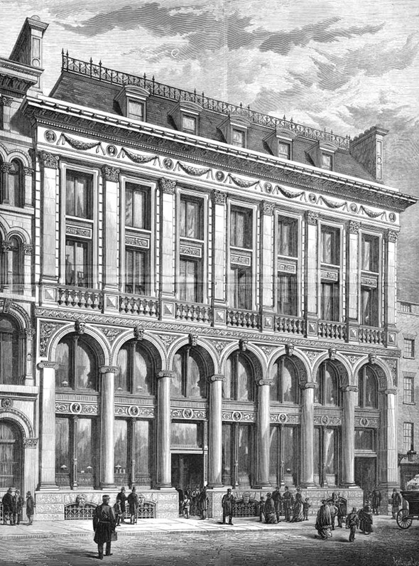 1877 &#8211; The Royal Bank of Scotland, 1 Bishopsgate, London