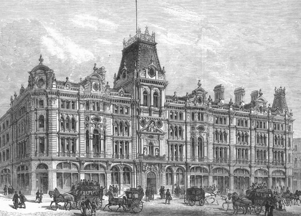 1881 – The Mercers' Company, Cheapside, London