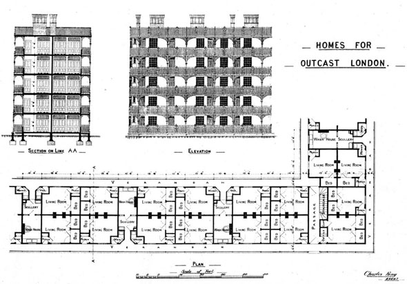 1892 – Homes for Outcast, London
