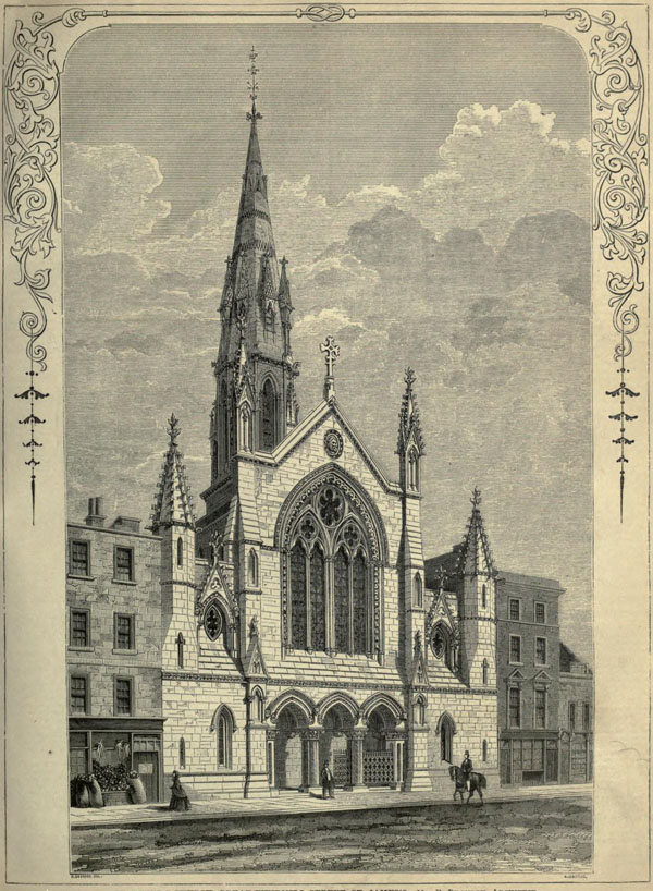 1848 – St. Peter's Church, Great Windmill St., London