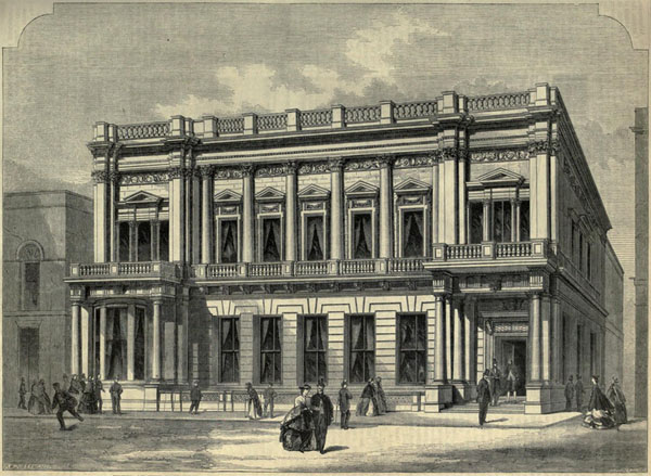 1845 – Conservative Club, St. James St., London