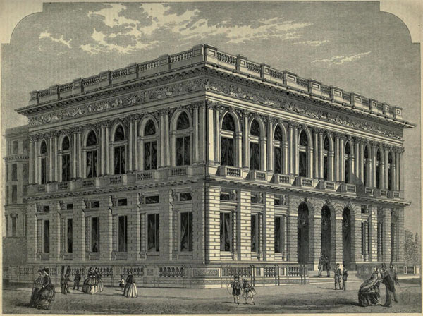 1851 – Army & Navy Club, Pall Mall, London