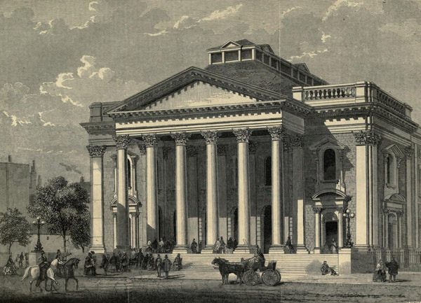 1861 &#8211; Metropolitan Tabernacle, Elephant &#038; Castle, London