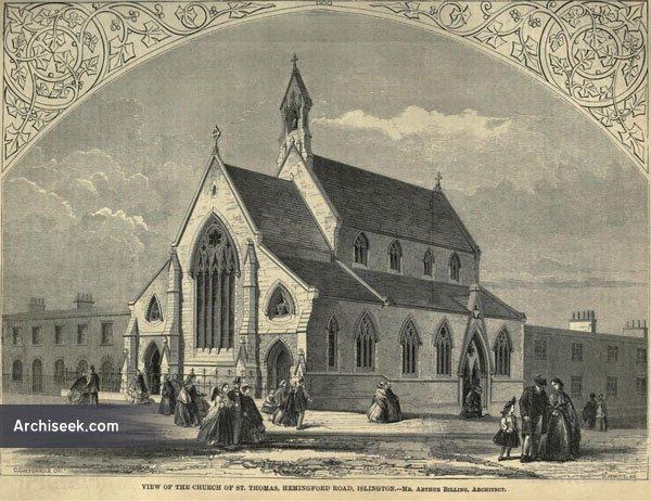 1860 – St. Thomas Church, Hemingford Rd., Islington, London