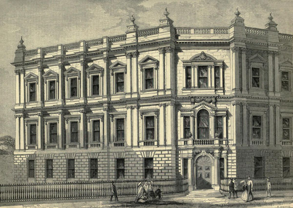 1860 – Metropolitan Board of Works, Spring Gardens, London