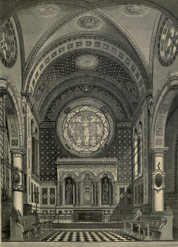 1861 &#8211; St. Michael&#8217;s Church, Cornhill, London