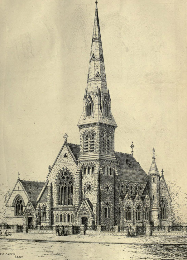 1870 – Presbyterian Church, Camberwell, London