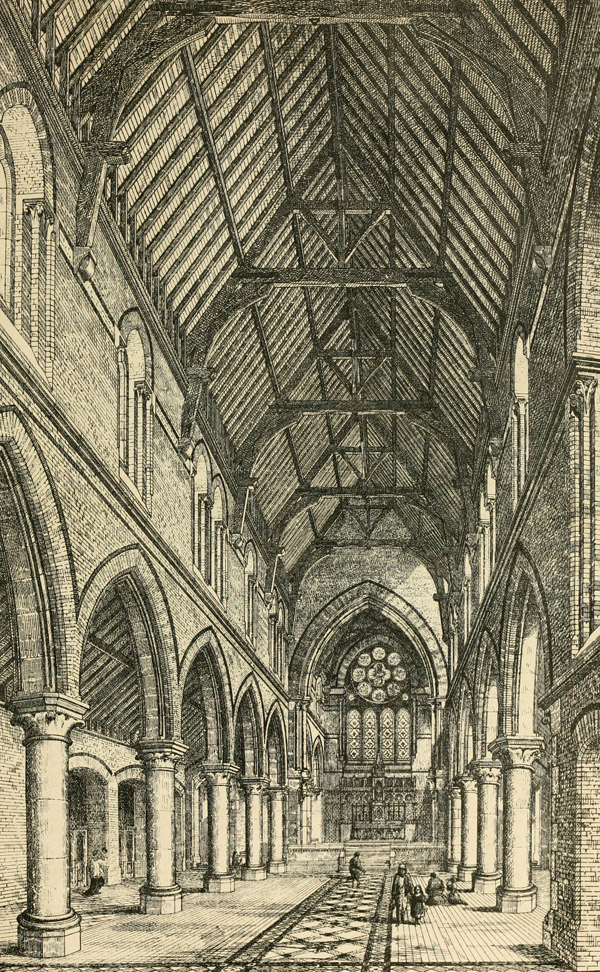 1870 – Sacred Heart Church & School, Holloway, London