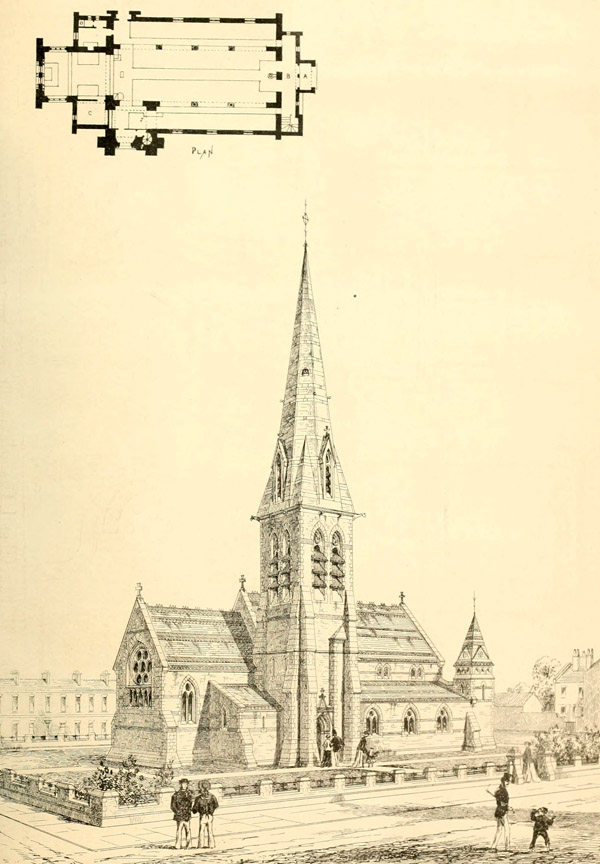 1868 &#8211; St. Luke`s Church, Millwall, London