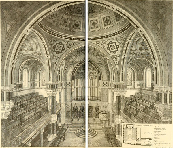 1871 – West London Synagogue, Upper Berkeley St., London