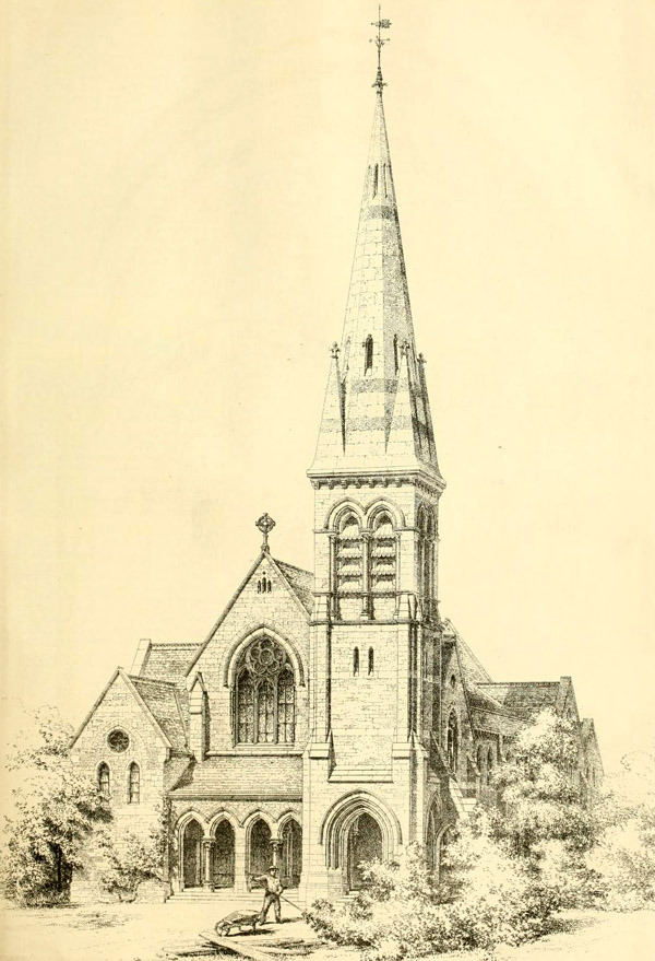 1871 &#8211; Streatham Hill Congregational Church, London