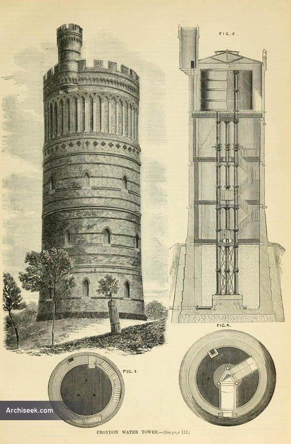 1867 – Croydon Water Tower, Surrey
