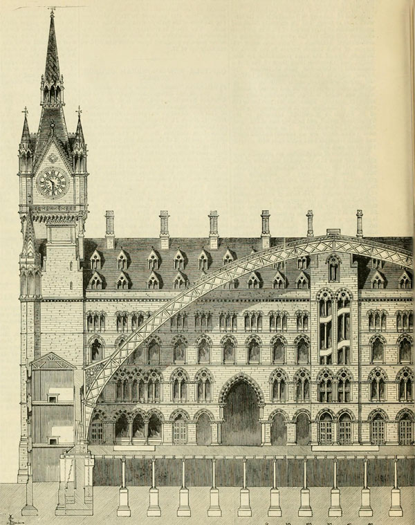1868 – St. Pancras Station, London