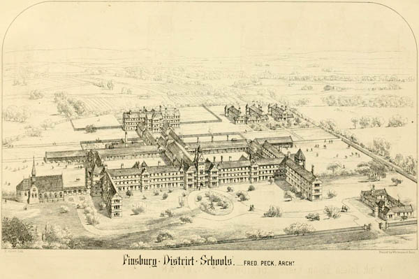 1869 &#8211; Finsbury District Schools, London