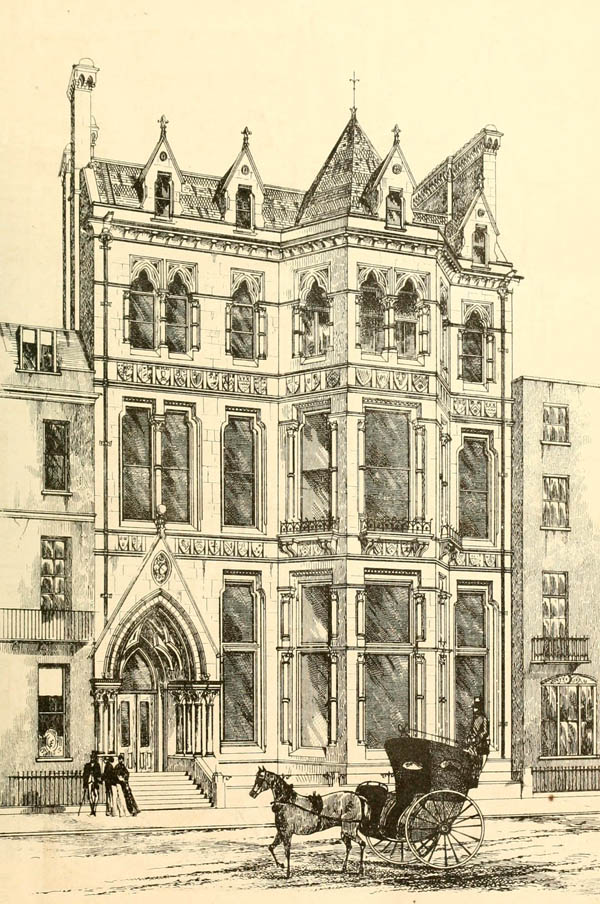 1868 &#8211; New University Club, St. James, London