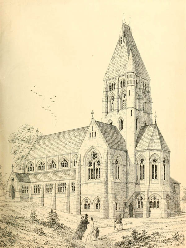 1870 &#8211; St. Steven`s Church, Hampstead, London