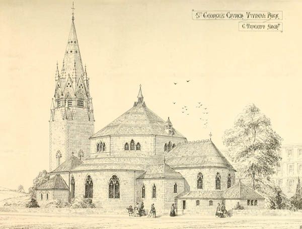 1867 &#8211; St. George&#8217;s Church, Tupnell Park, Holloway, London