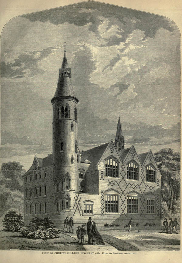 1860 – Christ's College, Finchley, London