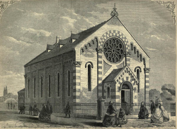 1861 &#8211; Chapel for Converted Jews, Camberwell, London