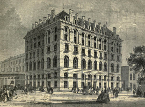 1861 – London Bridge Railway Terminus Hotel, London