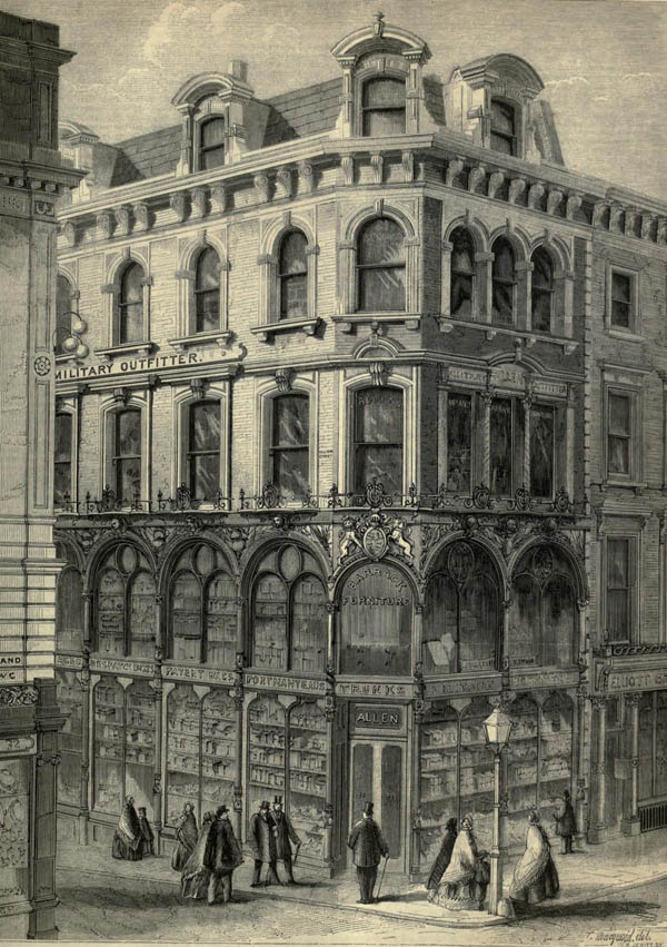 1861 – Shop, The Strand, London