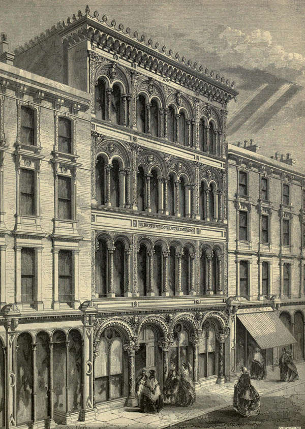 1860 – Westbourne Hall, Bayswater, London
