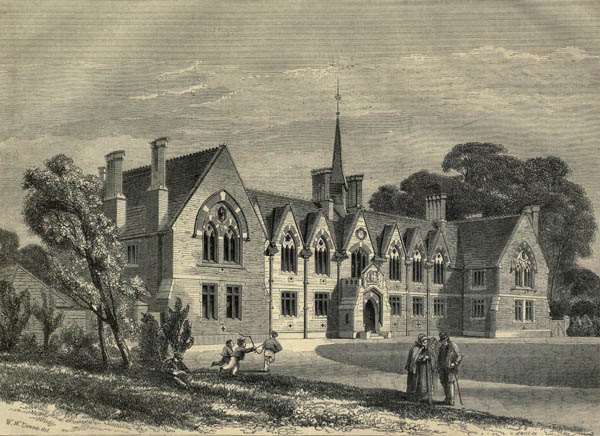 1860 – Drapers School, Tottenham High Cross, London