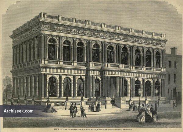 1856 – Carlton Club, Pall Mall, London