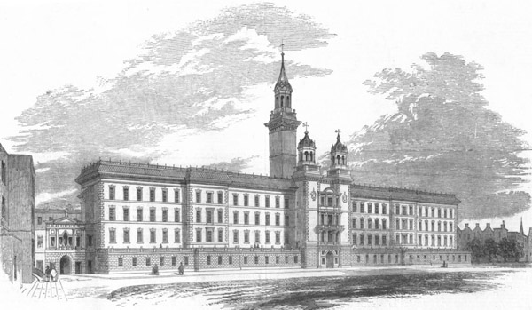 1852 &#8211; Guy&#8217;s Hospital, Southwark, London