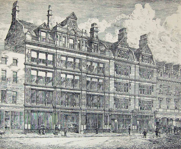1884 &#8211; Business Premises, Oxford Street, London