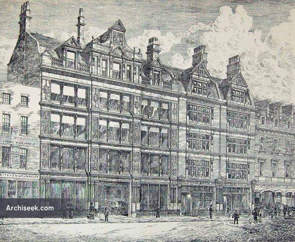 1884 – Business Premises, Oxford Street, London