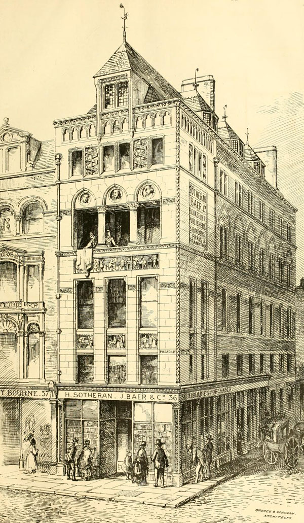1872 &#8211; No. 36 Piccadilly, London