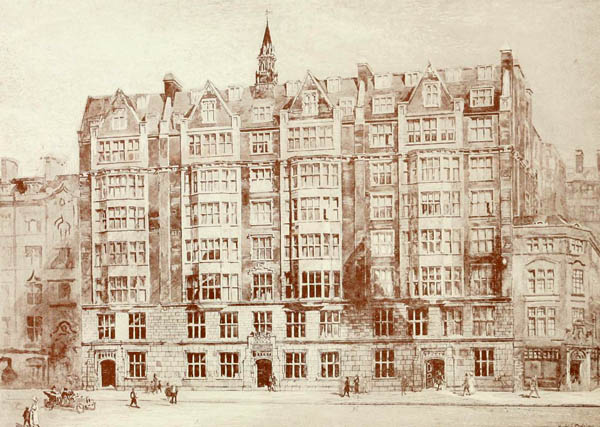1919 – Sanctuary Buildings, Great Smith St., London