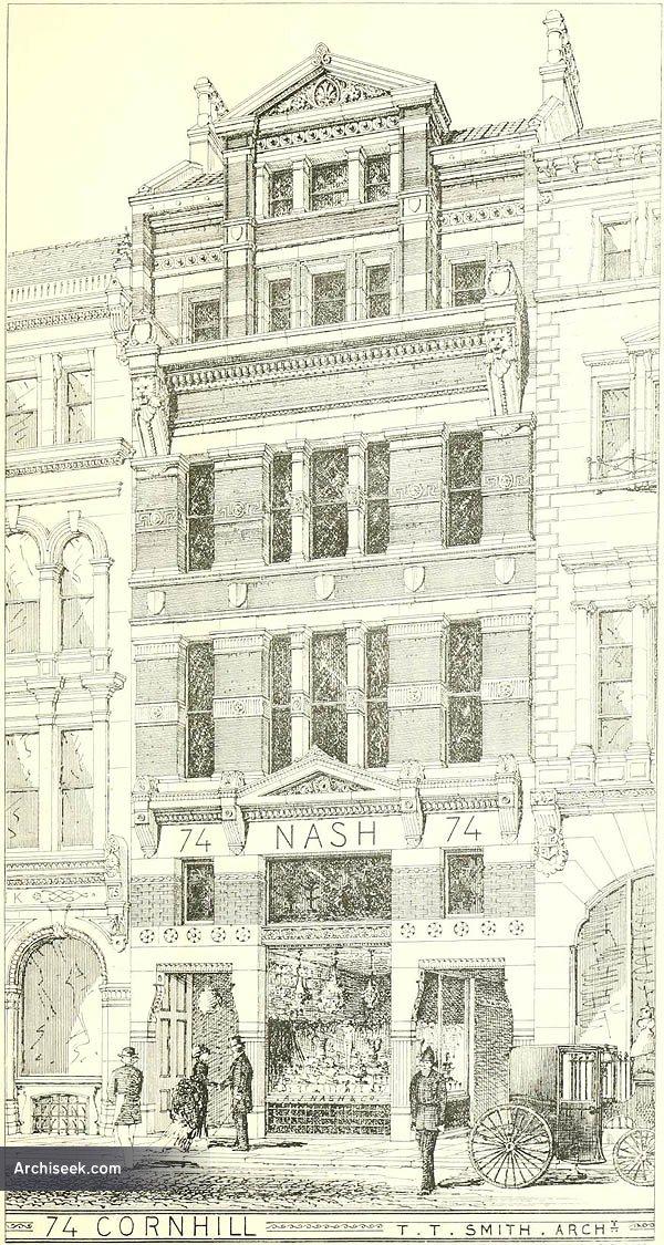1874 – 74 Cornhill, London