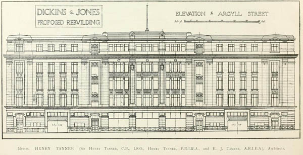 1922 – Dickins & Jones, 224-244 Regent St., London