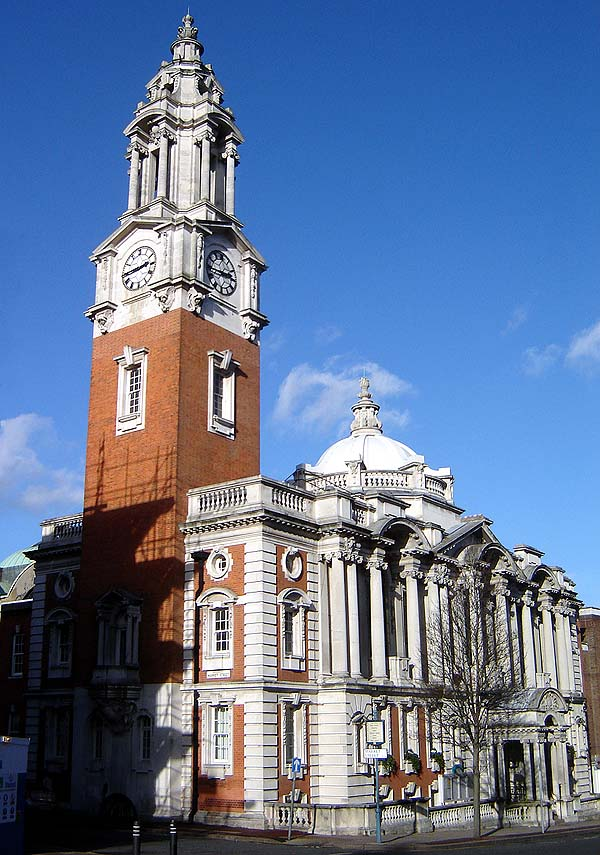1906 – Town Hall, Woolwich, London