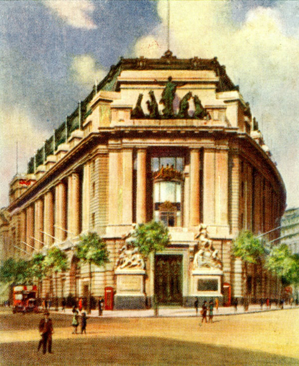 1918 – Australia House, The Strand, London
