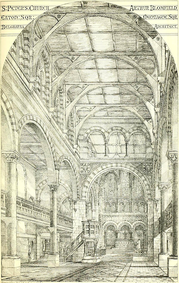 1874 – St. Peter's Church, Eaton Square, London
