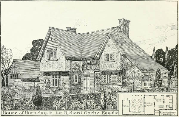 1919 – House at Hornchurch, London