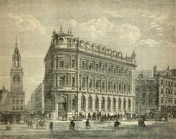 1873 – National Safe Deposit Company, Queen Victoria Street, London
