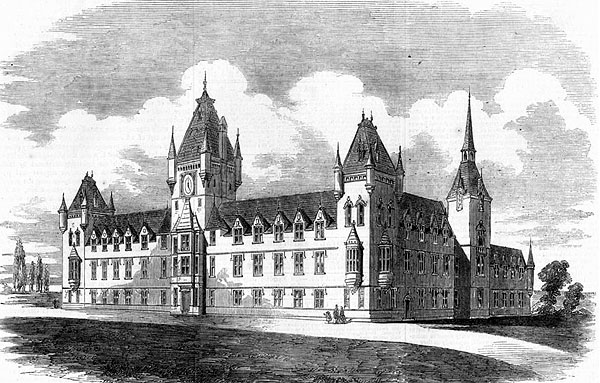 1858 – Royal Victoria Patriotic Building, Wandsworth, London