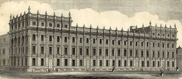 1845 – Board of Trade, Treasury Buildings, Whitehall, London